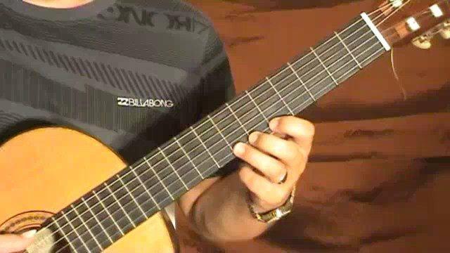 Classical Guitar Solo: Romanza - Part 1
